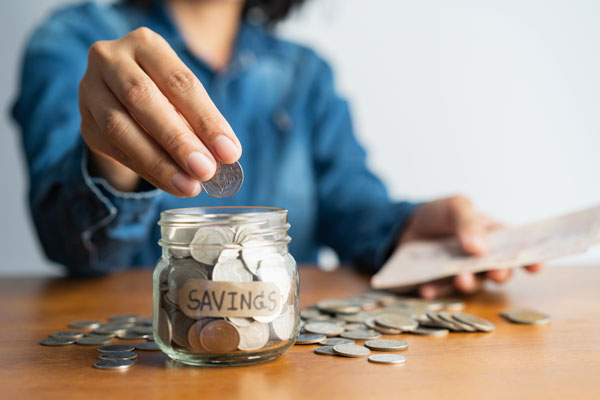 Start a Savings Account